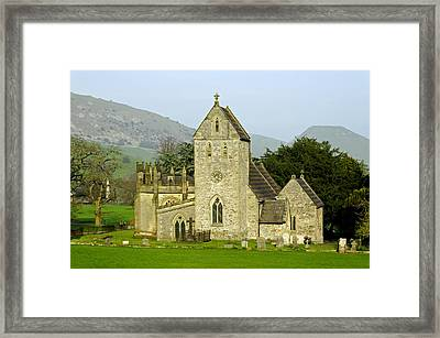 The Church Of The Holy Cross - Ilam Framed Print by Rod Johnson