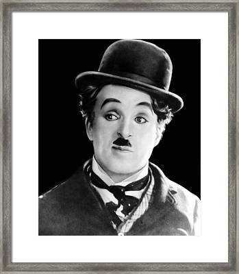 The Circus, Charles Chaplin, 1928 Framed Print by Everett