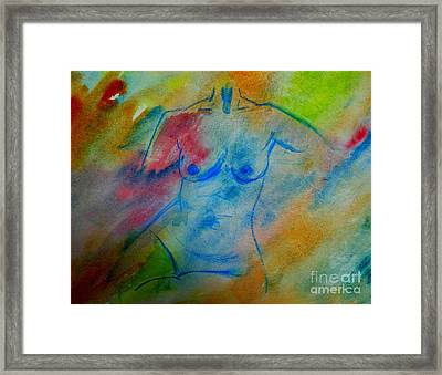 The Color Of Beauty 2 Framed Print by Julie Lueders