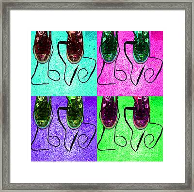 The Color Of Love Framed Print by Paul Ward