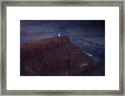 The Colorado River At Hopi Point Framed Print by Andrew Soundarajan