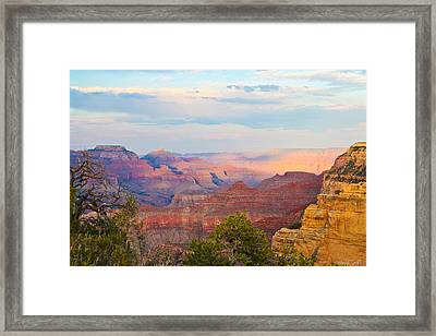 The Colors Of The Canyon Framed Print by Heidi Smith