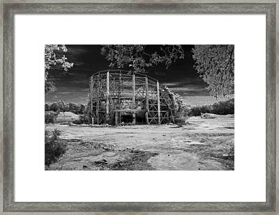 The Comet Framed Print by Mark Wiley