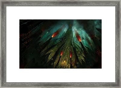 The Conjuring Framed Print by Philip Straub