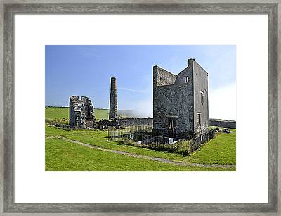 The Copper Mines Framed Print by Martina Fagan