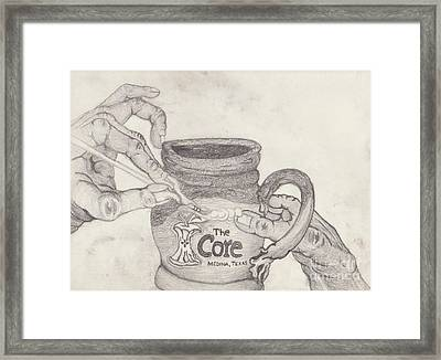 The Core Mug Framed Print by TK Mayfield