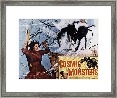 The Cosmic Monster, Aka Cosmic Framed Print by Everett