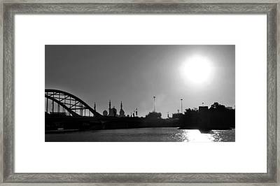 The Cream Of Abudhabi Framed Print by Farah Faizal