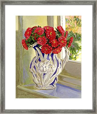 The Cream Pitcher Framed Print by David Lloyd Glover