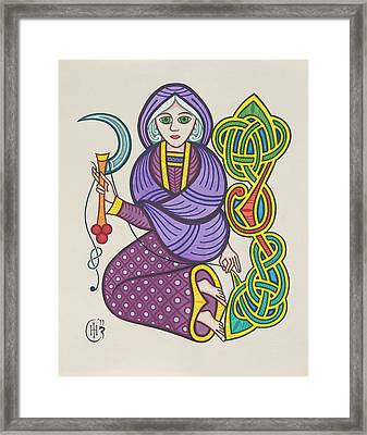 The Crone Framed Print by Ian Herriott