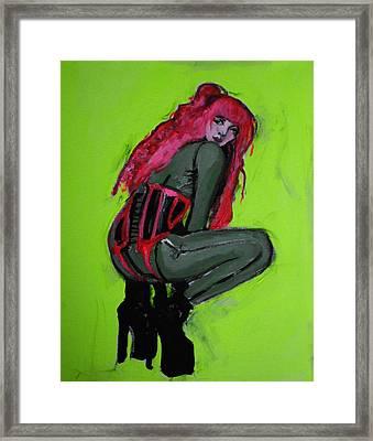 The Croucher Framed Print by Adam Kissel