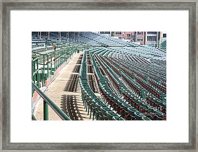 The Cupholders Are In Bloom Framed Print by David Bearden