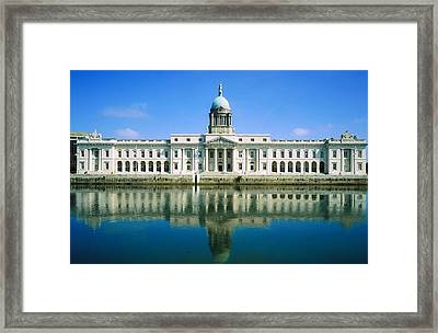 The Custom House, River Liffey, Dublin Framed Print by The Irish Image Collection