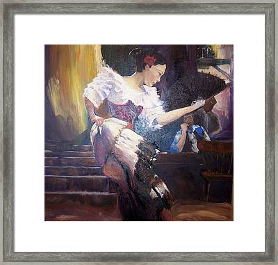 The Dancer Framed Print by Andreia Medlin