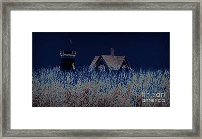 The Darkness Before The Dawn Framed Print by Luke Moore