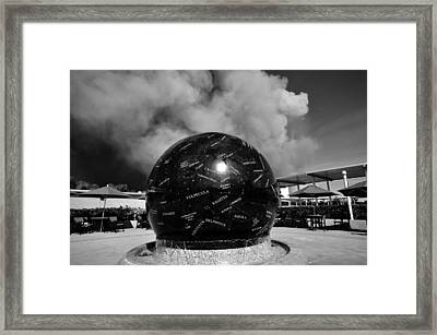 The Day The Stars Fell To Earth Framed Print by David Lee Thompson