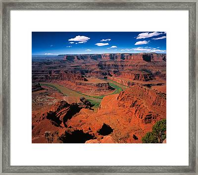 The Dead Horse Point State Park Framed Print by Daniel Chui