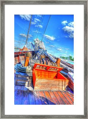 The Deck Framed Print by Barry R Jones Jr