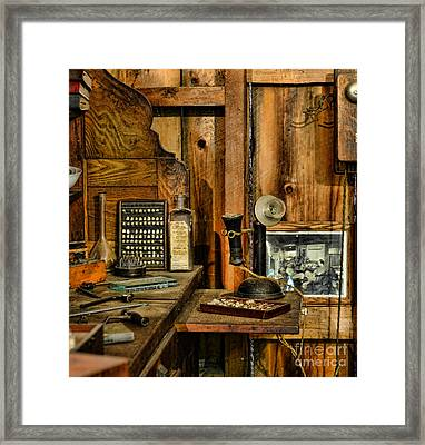 The Dentist Office Framed Print by Paul Ward