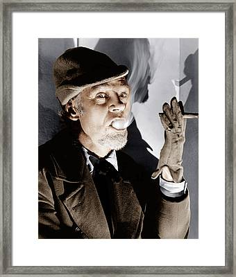The Devil And Daniel Webster, Aka All Framed Print by Everett