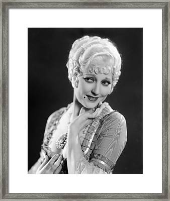 The Devils Brother, Thelma Todd, 1933 Framed Print by Everett