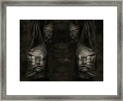 The Discourse Framed Print by Fine Art  Photography