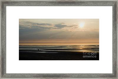 The Dog Walkers Framed Print by Wayne Molyneux