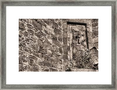 The Door To Nowhere  Framed Print by JC Findley
