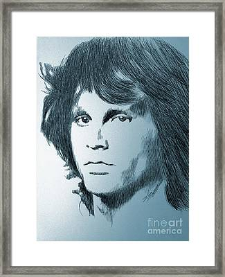 The Doors Of Perception Framed Print by Robbi  Musser