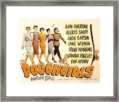 The Doughgirls, Ann Sheridan, Alexis Framed Print by Everett
