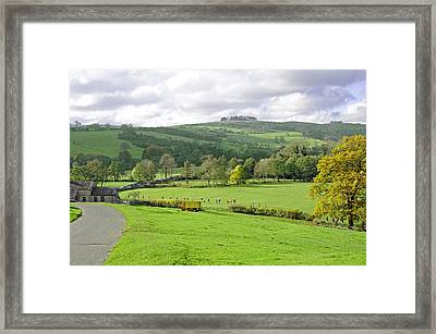 The Dovedale Dash By Thorpe Mill Farm Framed Print by Rod Johnson