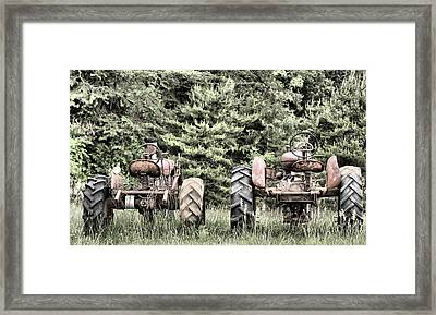 The Drag Race Framed Print by JC Findley