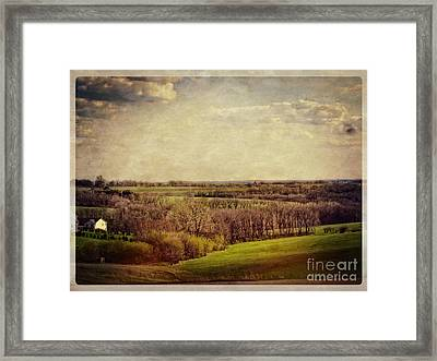 The Driftless Zone Framed Print by Mary Machare