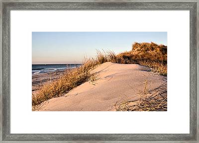 The Dunes Of Jones Beach Framed Print by JC Findley