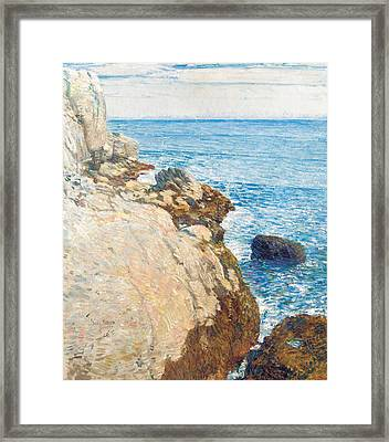 The East Headland Framed Print by Childe Hassam