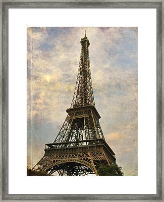 The Eiffel Tower Framed Print by Laurie Search