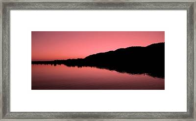 The End Of The Day ... Framed Print by Juergen Weiss