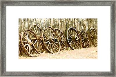 The End Of The Line Framed Print by Cristophers Dream Artistry