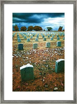 The End Framed Print by Skip Nall