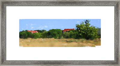 The Eschweiler Buildings Framed Print by Geoff Strehlow