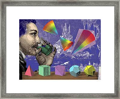 The Eternal Truths Of Geometry Framed Print by Eric Edelman