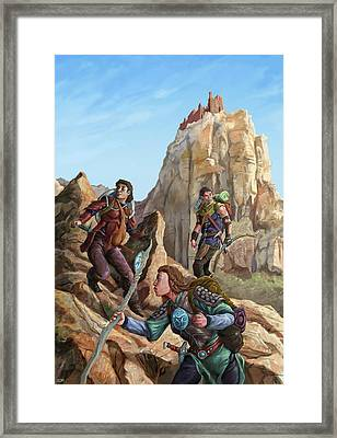 The Explorers Color Framed Print by Storn Cook