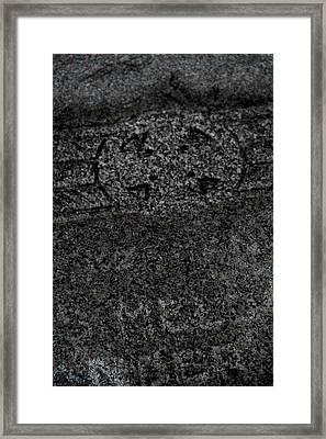 The Fading Framed Print by Odd Jeppesen