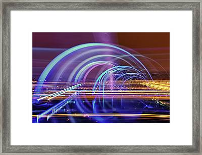 The Falkirk Wheel Framed Print by Anthony Brawley Photography