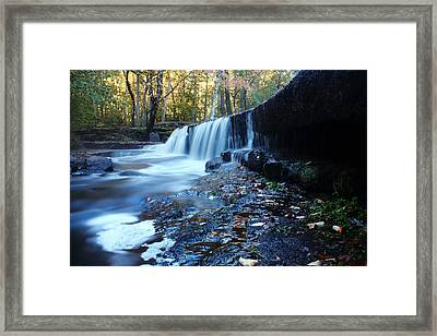 The Falls River Framed Print by Andrew Pacheco