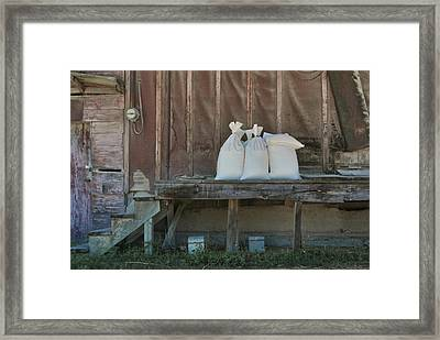 The Feed Mill Framed Print by Odd Jeppesen