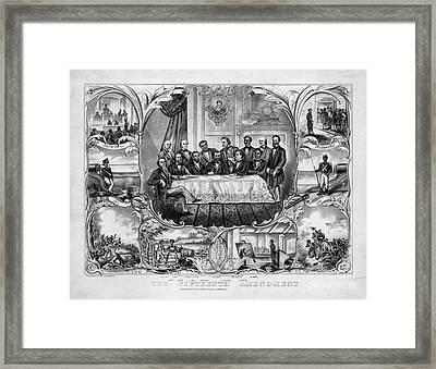 The Fifteenth Amendment Framed Print by Granger