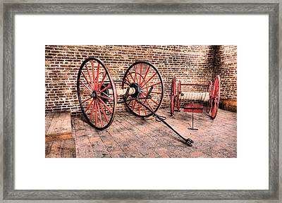 The Firehouse Framed Print by JC Findley