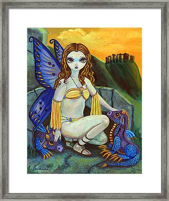 The Foundlings Framed Print by Lyn Cook
