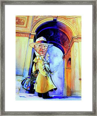 The French Connection Framed Print by Hanne Lore Koehler